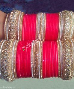 Shahi Bridal Chura Red