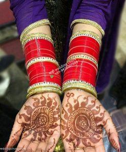 kundan bridal chura
