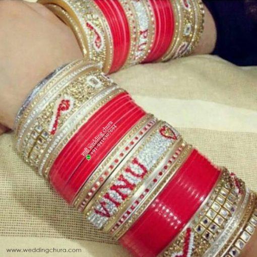 Name Bangle Bracelets and Chura